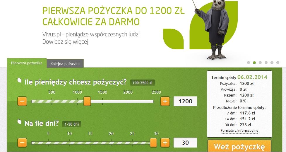 vivus-pozyczka Opinie o Vivus koszty chwilówek Firmy pozabankowe chwilówki online